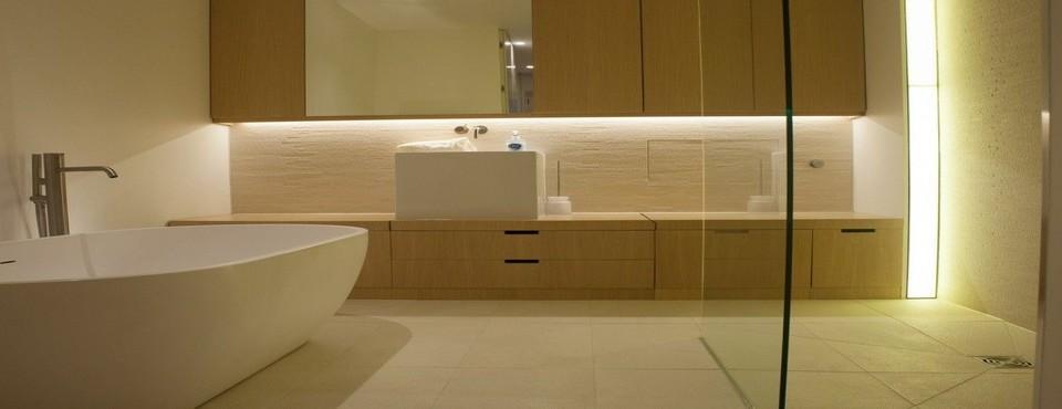 Bathroom feature lighting, Brighton