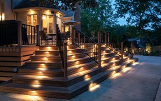 Ideas for outdoor decking lighting from Williams Electrical Contractors - electricians in Brighton