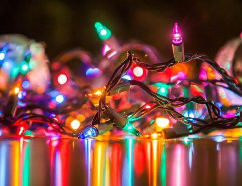 Festive lighting safety tips – keep those Christmas lights sparkling